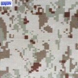 T/C80/20 21*21 108*58 200GSM 작업복 의류를 위한 위장에 의하여 인쇄되는 능직물 직물 폴리에스테 직물