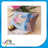 Caixa de empacotamento de papel do presente popular da Descanso-Forma dos doces do casamento