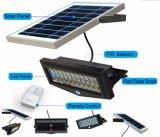 radio solar al por mayor al aire libre de la luz de la pared del sensor de movimiento del jardín de las luces 7W