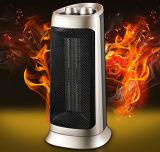 calefator 2000W cerâmico com calefator de ventilador