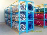 Lager, das bewegliche Metallgummireifen-Zahnstange/Reifen-Zahnstange stapelt