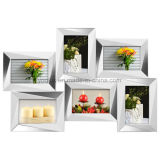 Plastic Multi Openning Collage Wall Mirror Picture Photo Frame