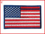 Kundenspezifische konstante Armee-Stickerei-Markierungsfahnen-Änderung am Objektprogramm (YH-EB140)