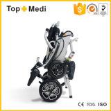 [توبمدي] ألومنيوم منافس من الوزن الخفيف [فولدبل] [كرّيبل] [إلكتريك بوور] كرسيّ ذو عجلات