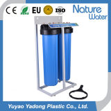 boîtier de 20 '' Grands bleus de double filtration pour domestique