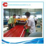 Hoja caliente del material para techos de la estructura de acero de la exportación de China con la capa Termal-Protectora