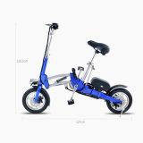 Bicicleta plegable eléctrica de moda 2016 con 2 ruedas