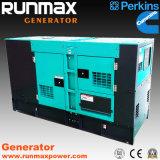 генератор супер молчком UK Perkins силы 8kVA-2000kVA электрический тепловозный (RM80P2)