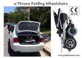 최신 판매! E 왕위! 새로운 혁신적인 디자인 10 인치 힘 전자 휠체어 Ce/FDA는 World&#160에서, 잘 승인했다;
