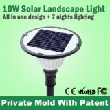 Sz Lead Sun Outdoor LED Lampadaire solaire All in One Fixture