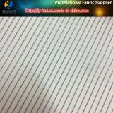 Blauer Streifen-Großhandelsfutter, Polyester-Garn-gefärbtes Gewebe für Klage (S148.151)