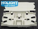 Bandeja óptica del empalme de fibra para el encierro de la junta del cable óptico de fibra