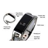 Vigilanza astuta di sport del braccialetto di RoHS del Ce di Shenzhen con il pedometro
