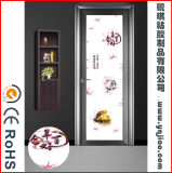 Film autocollant en PVC pour vitrail décoratif pour porte