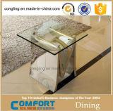 コーヒーテーブルの金属表の側面表のホーム
