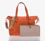 Мешок мамы перемещения младенца профессионального Backpack мешков пеленки OEM кожаный водоустойчивый (MOM01)