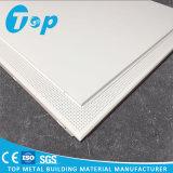 Panneau perforé blanc de plafond suspendu du plafond en aluminium 60*60 cm