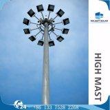 lâmpada elevada redonda Polygonal do mastro do sistema do elevador de 1000W 18m/20m/30m HPS