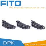 Ar pneumático Conncetor do toque do encaixe um do PK por Airtac Tipo