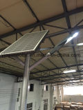un conjunto de luz de calle solar de la alta lámpara de los 8m