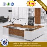 أثاث لازم خشبيّة مكتب تنفيذيّ [ل] شكل مكتب طاولة ([هإكس-ت14013])