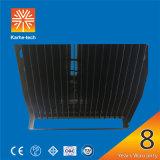 8years la garantie 300W abaissent la lumière élevée de mât du poids léger DEL