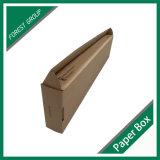 Caixa de embalagem ondulada superior de Kraft da dobra com inserções