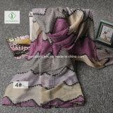 ボイルのスカーフの多彩なScarf Factory縞によって印刷される日焼け止めの方法女性