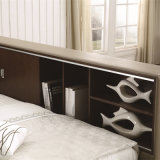 寝室の使用(FB8048A)のためのTatamiの新式の現代革ベッド
