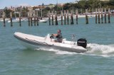 Barco adulto do sistema do GPS dos assentos do barco de motor quatro do esporte da fibra de vidro para o mar