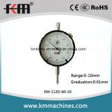 DIN878 датчик индикатора с круговой шкалой стандарта 0-10mm механически
