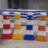 Barrera llena de agua plástica del bloque de camino del tráfico de la seguridad