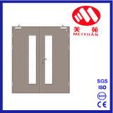 Puerta cortafuego de acero, puertas de cristal dobles