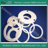 Guarnizione di gomma piana rotonda modellata del silicone su ordinazione