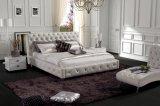 결정 이탈리아 가죽 침대 현대 침실 (SBT-5816)