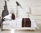 De Bladen van het Bed van het Hotel van de Grootte van de koning 100% Reeksen van de Katoenen Witte Dekking van het Dekbed