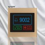 아크릴 개략 프레임 (SK dB100S2 R)에 있는 호텔 현관의 벨 시스템 옥외 위원회
