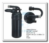 Acumulador de alumínio personalizado para o auto condicionamento de ar 89*225