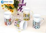 Tazza di ceramica della tazza di stampa di marchio
