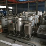 Одобренная Ce Легк-Работаемая машина пастеризации сока Htst малого масштаба обрабатывая
