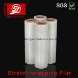Película de empacotamento da película transparente original da película do envoltório do estiramento dos grânulo de LLDPE