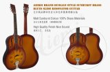 Гитара резонатора тела металла OEM цены по прейскуранту завода-изготовителя Sunburst для сбывания