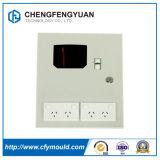Caixa elétrica de distribuição de gabinetes de montagem em parede metálica