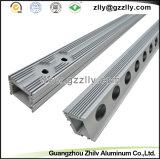 Coperture di alluminio dell'indicatore luminoso della lavata della parete dell'espulsione per costruzione