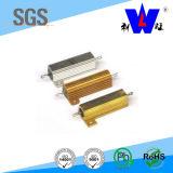 금 알루미늄은 Wirewound 저항기를 수용했다