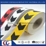Cinta reflexiva de la flecha, cinta de PVC reflexiva para el carro, etiqueta engomada reflexiva auta-adhesivo visible del vehículo