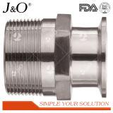 Gesundheitlicher Edelstahl-Gefäß-Verbindungsstück-Rohrfitting-Hex Schelle-Adapter