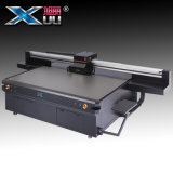 Xuli 3.2m G5 Rioch 인쇄 헤드 평상형 트레일러 옥외 인쇄 기계
