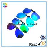 Clip polarisé sur la fabrication de lunettes de soleil