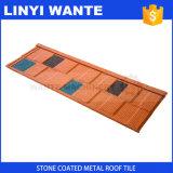 Telha de telhado de aço revestida de pedra de Wtshingle do melhor preço